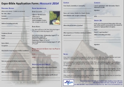 Application Form PDF