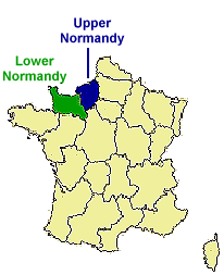 locating normandy